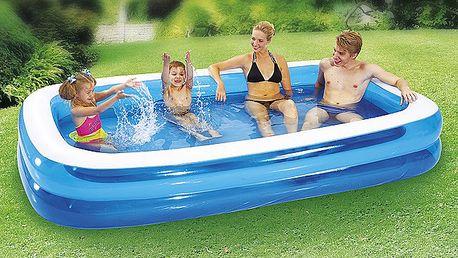 Nafukovací bazén, obdélník VETRO-PLUS 262 x 175 x 51 cm