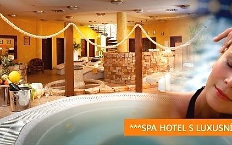 6 DNÍ s wellness pro 2 osoby ve SPA Hotelu***