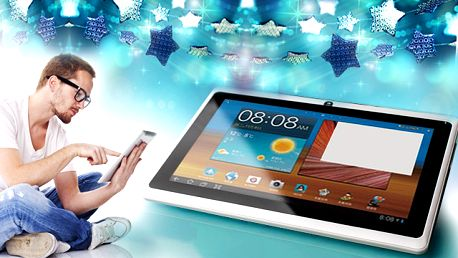 Tablet 7 s Android 4.1 a vstupem pro 3G dongle