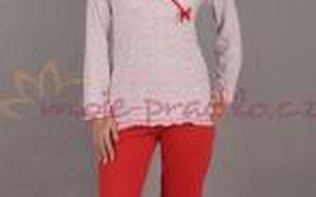 Dámské pyžamo Vienetta Secret dlouhé Překlad