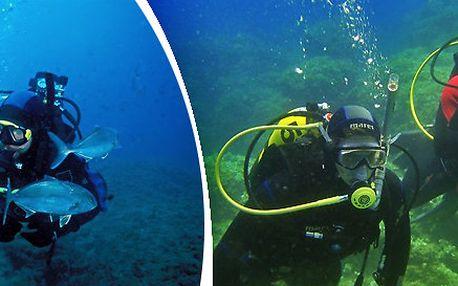 Prodloužený víkend s potápěním v Chorvatsku