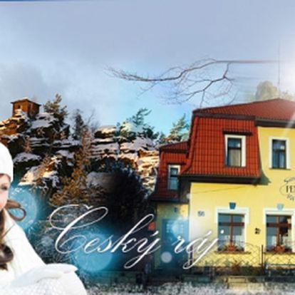 RELAXAČNÍ VÍKEND v Českém Ráji v zimě nebo na jaře! 3 DNY pro 2 osoby v APARTMÁNU se SNÍDANÍ a relaxační HAVAJSKOU MASÁŽÍ za 1499 Kč! Navštivte zimní Český Ráj a odpočiňte si v příjemném Pensionu Stará škola se slevou 50%!