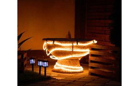 Světelný venkovní řetěz o délce 9 m