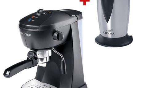 Espresso Concept EP 2920 Delicato - příprava kávy, cappucina, latté nebo horké čokolády