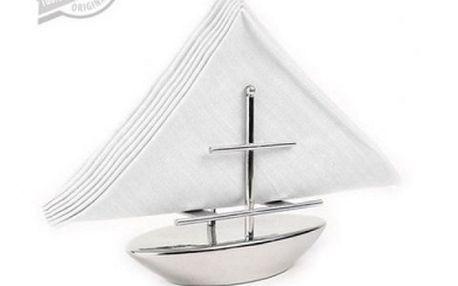 Držák na ubrousky - loď - krásný doplněk na váš stůl