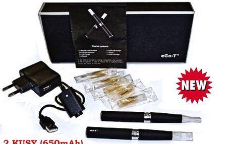 Elektronická cigareta eGo-T 650mAh, 2ks