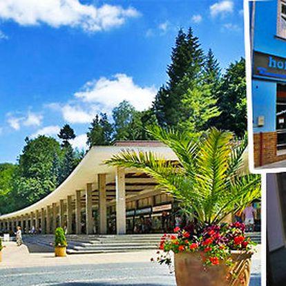 Pobyt v hotelu Vltava Luhačovice pro 2 osoby na 2 noci