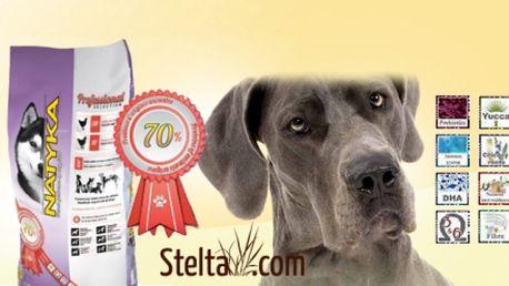 KRMIVO PRO PSY z čerstvého masa! Natyka Professional 14 kg za pouhých 899 Kč VČETNĚ POŠTOVNÉHO! Pro mladé, dospělé, starší i citlivé psy všech plemen! Sleva 44%!