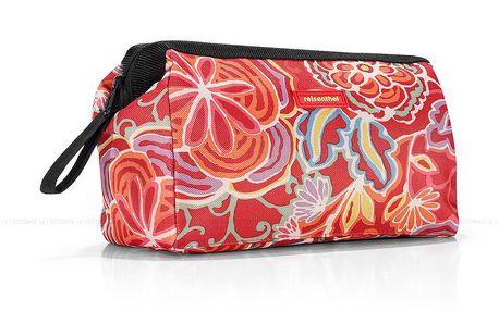 Klasická cestovní kosmetická taška Travelcosmetic flora 2