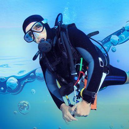 Potápění pro začátečníky - 53% sleva