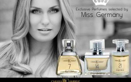 Parfémy vybrané Miss Germany CHIARA AMBRA ® C05139