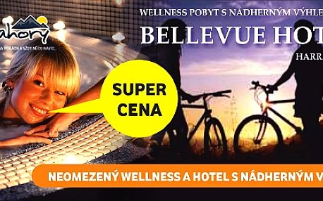 6 DNÍ s wellness v Hotelu Bellevue***, Harrachov