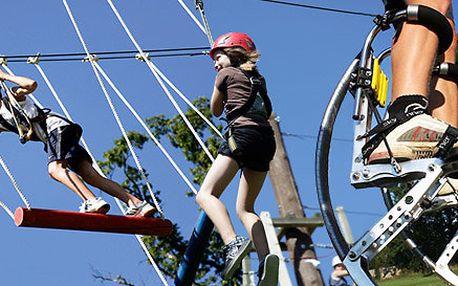 6 akčních atrakcí v Adrenalin parku