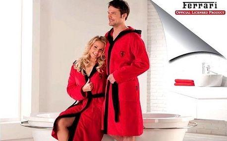 Župan Ferrari Exclusiv Red Black unisex od 1295,-