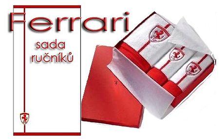 Sada značkových ručníků Ferrari od 889 Kč!!!