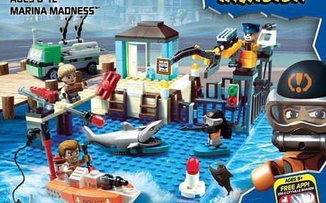 KRE-O CityVille interaktivní stavebnice přístav