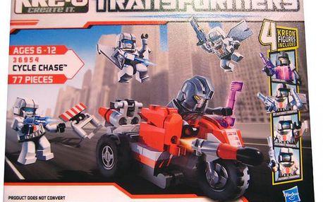 KRE-O Transformers stavebnice s motocyklem a raketometem