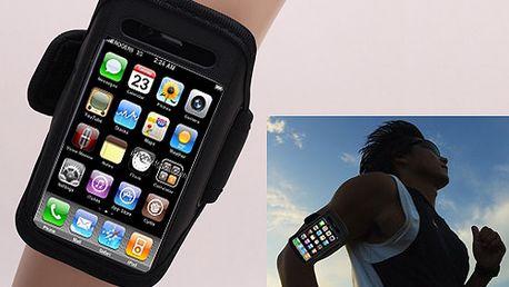 Sportovní pouzdro na ruku pro iPhone 4S a poštovné ZDARMA! - 8802686