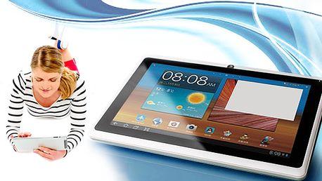 """7"""" tablet s Androidem 4.1 a vstupem pro 3G dongle"""