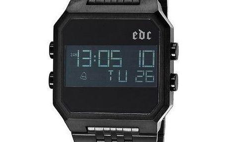 Černé digitální hodinky EDC by Esprit