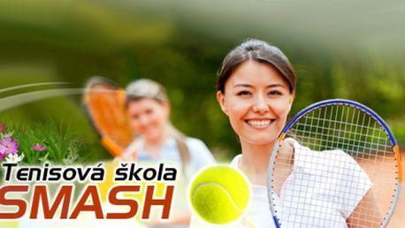 5 hodinových lekcí tenisu s diplomovaným trenérem za 1250 kč včetně vypletení rakety v hodnotě 300 kč zdarma! Zlepšete svoji hru díky tenisové škole smash!