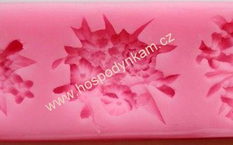 Silikonová forma na marcipán vázané květiny