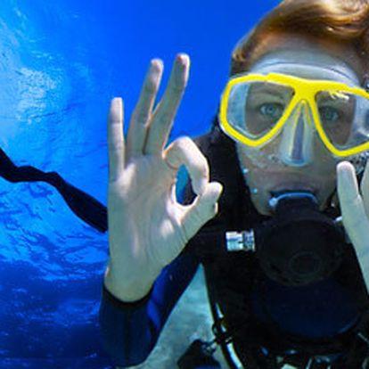 2denní outdoorový pobyt s potápěním