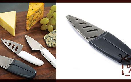 Nože na sýr - joseph joseph duo, šedé