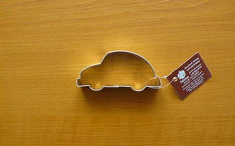 Vykrajovátko autíčko (z pocínovaného potravinářského plechu)