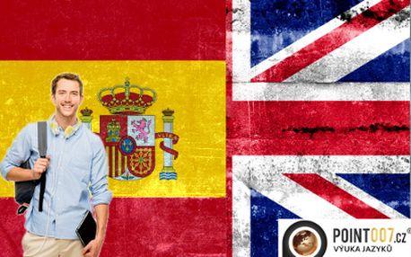 Kurz anglicky nebo španělsky za týden za 2999 Kč! Unikátní kurz s certifikátem!
