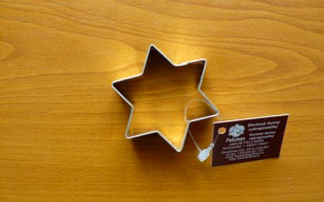 Vykrajovátko hvězda velká (z pocínovaného potravinářského plechu)