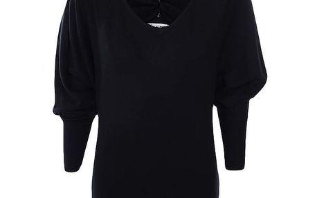 Dámský černý svetr Nice Tricot
