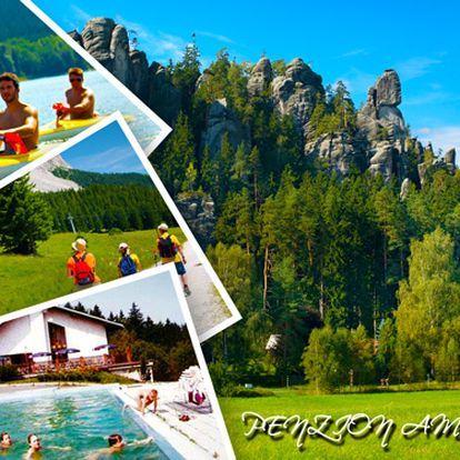 Východní Čechy – ubytování + neomezeně bazén