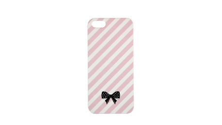 Roztomilý obal na iPhone 5 Pink Stripe od Bombay Duck