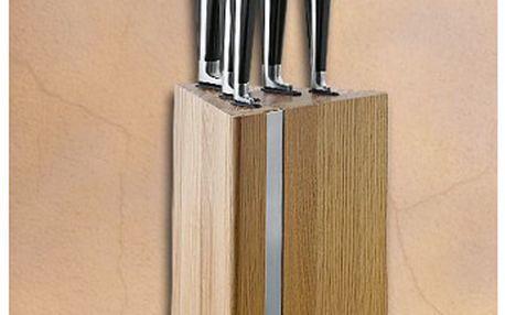Sada nožů v bloku 6 ks BLACK MAGIC CS SOLINGEN 1829-027681