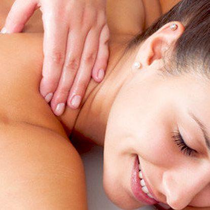 60minutová masáž – japonská, hot stones, moxování