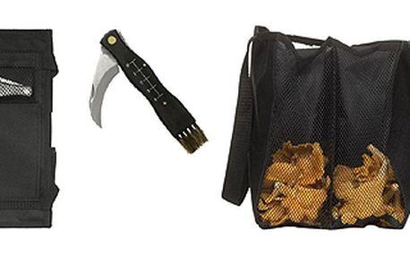 Brašna na houby s houbařským nožíkem SAGAFORM Forest Mushroom Set