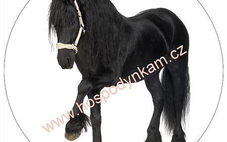 Jedlý papír kůň (oplatka na dort)