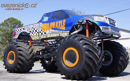 Ostrá adrenalinová jízda v Monster Trucku