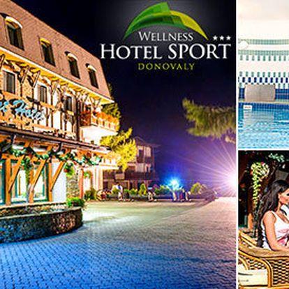3–4 dny v oblíbeném wellness hotelu v Donovalech