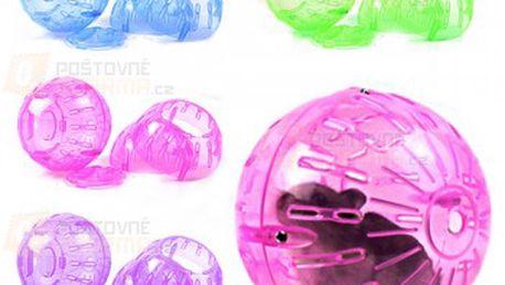 Plastová hrací koule pro křečky a poštovné ZDARMA! - 13907903