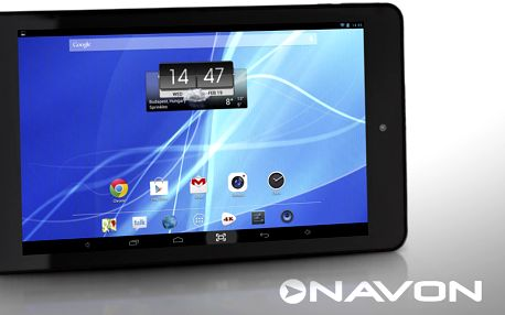 7palcový tablet Navon Predator s Androidem 4.4 KitKat