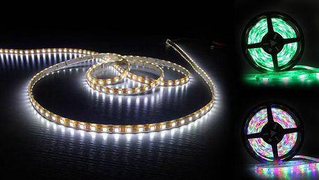LED pásek o délce 5 m do akce!