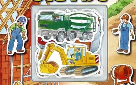 Zábavné magnety: Na stavbě