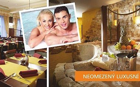Wellness pobyt pro 2 osoby ve SPA Hotelu Bílý Hoře...