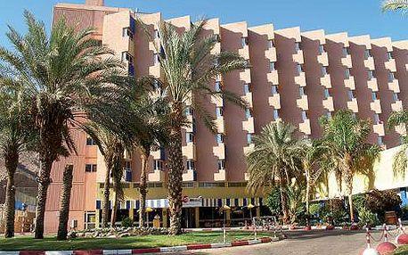 Izrael, oblast Eilat, snídaně, ubytování v 4* hotelu na 9 dní
