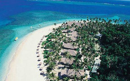 Fidži, oblast Mamanuca, snídaně, ubytování v 4* hotelu na 14 dní