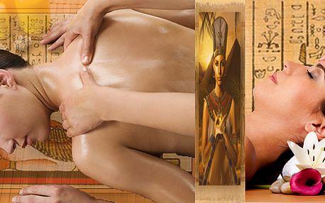 Báječný Rituál Nefertity - jedinečná egyptská harmonizující masáž - 100 minut celotělové masáže! Přijďte vyzkoušet absolutní uvolnění a relaxaci!