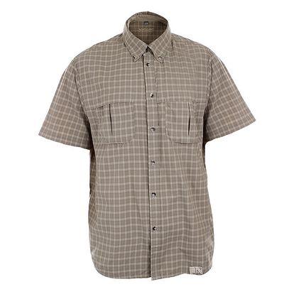 Pánská hnědá kostkovaná košile Northland Professional