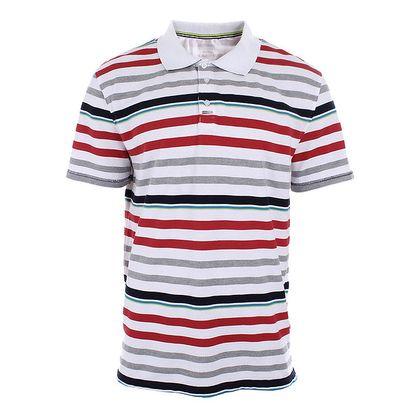 Pánské barevně pruhované polo tričko Northland Professional